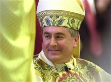 Bishop Ronald Gainer of the Harrisburg Diocese in a 2003 file photo.