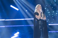 "Gabby Barrett sings ""Rivers Deep"" on the performance finale show of ""American Idol"" Sunday night."