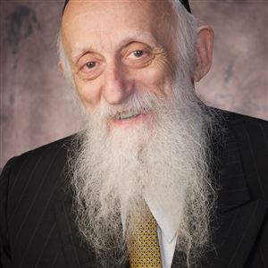 Abraham Twerski, Orthodox rabbi, psychiatrist and founder of Gateway Rehab. He's now its emeritus medical director.