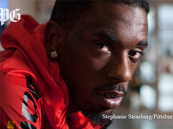 Hill District native and hip-hop artist Jimmy Wopo.