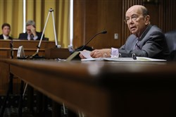 WASHINGTON, DC - JUNE 20:  U.S. Commerce Secretary Wilbur Ross testifies before the Senate Finance Committee in the Dirksen Senate Office Building on Capitol Hill in Washington on June 20, 2018.