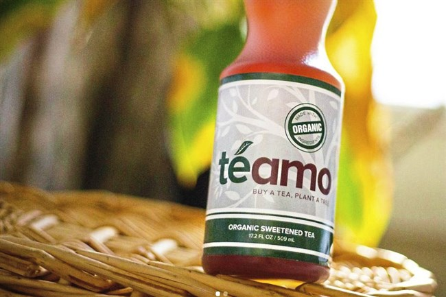 Te Amo is a new tea product based on a recipe from the Peruvian grandmother of Mark Sotomayor of Evans City.
