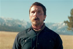 "Christian Bale in ""Hostiles."""