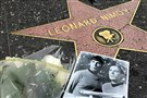 Flowers adorn the Hollywood Walk of Fame star of Leonard Nimoy in Los Angeles Friday.
