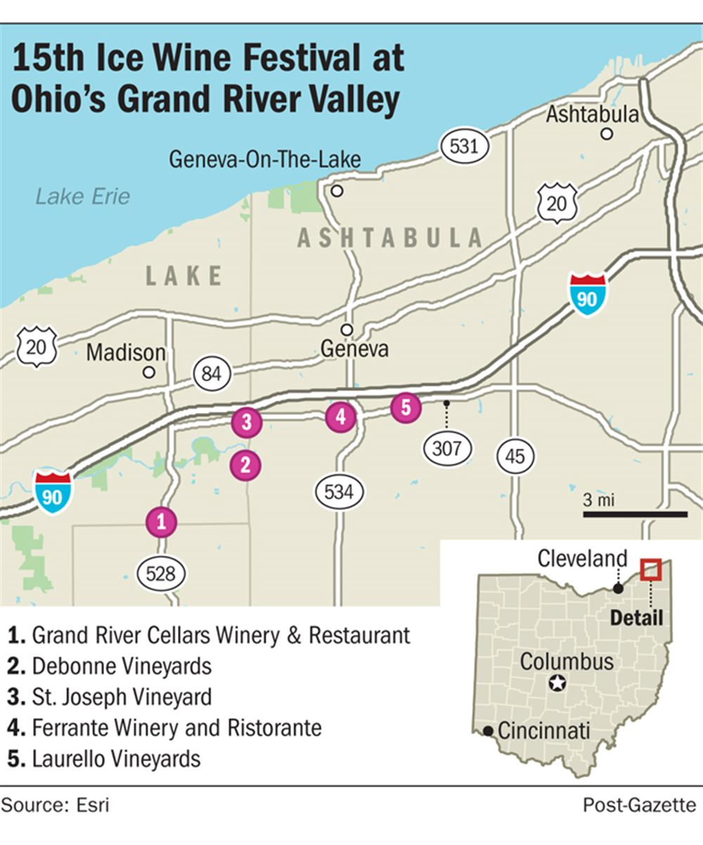 Northeast Ohio Celebrates Its Ice Wines Pittsburgh Post Gazette