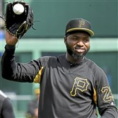 Gregory Polanco has been rooting for David Ortiz to return to full health. (Matt Freed/Post-Gazette)