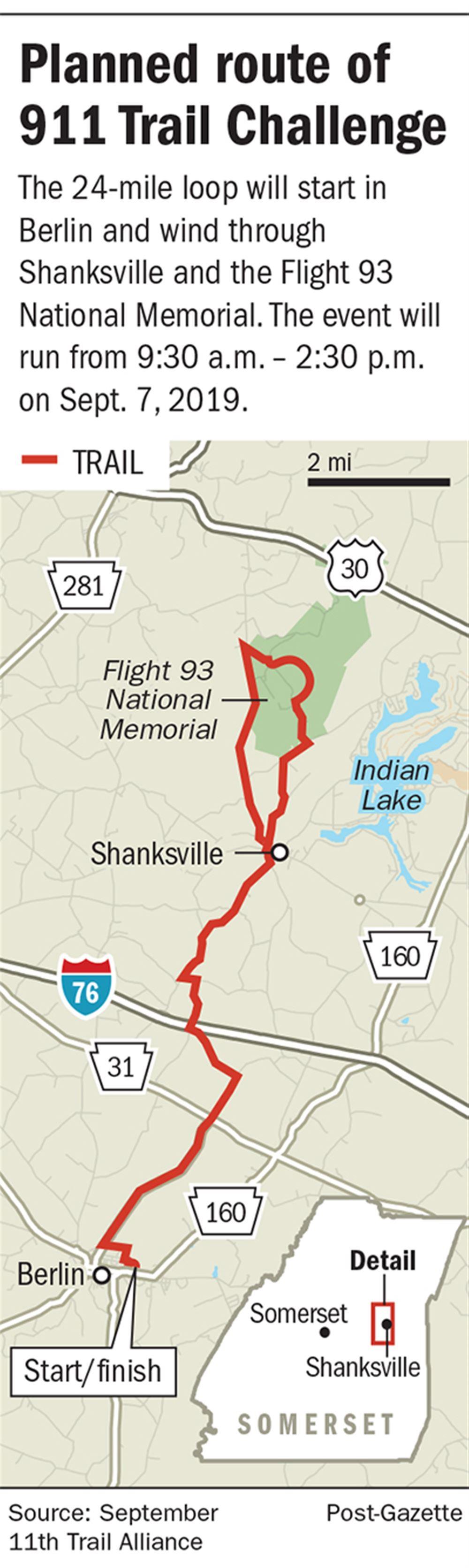 911 Memorial trail