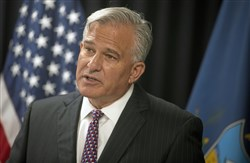 Allegheny County District Attorney Stephen A. Zappala Jr. during a news conference at the Allegheny County police headquarters in Green Tree in September.