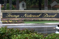 This June 2, 2017 file frame from video shows the Trump National Doral in Doral, Fla. The White House says it has chosen President Donald Trump's golf resort in Miami as the site for next year's Group of Seven summit.