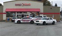 A man was shot inside this Family Dollar in McKeesport on Thursday.